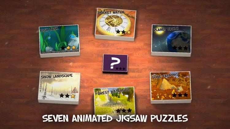 Jigsauce - Animated 3D Living Jigsaw Puzzles screenshot-0