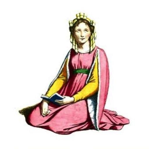 Vintage Medieval Women Stickers