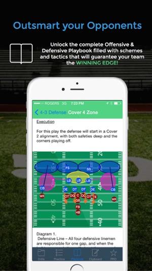 Football blueprint on the app store football blueprint on the app store malvernweather Choice Image