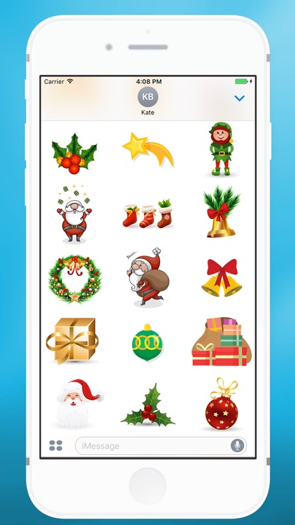 Christmas Items Sticker for iMessage screenshot-3
