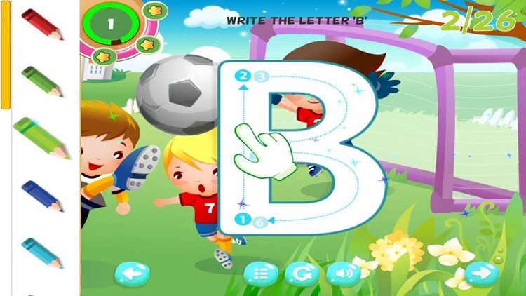 ABC Tracing Alphabet Learning Game for Kids