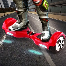 Hoverboard Hill Ninja: Hover Scooter Simulator
