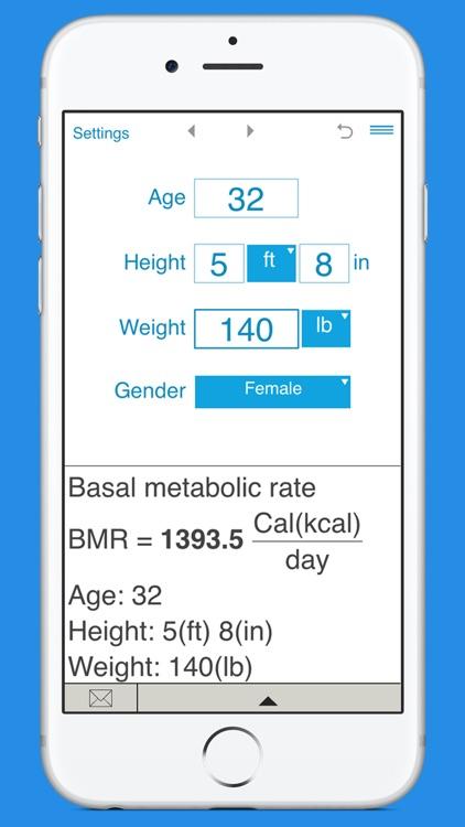 Smart BMR Calculator