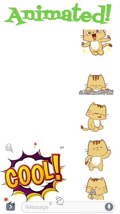 Funny Pipo Cat Animated