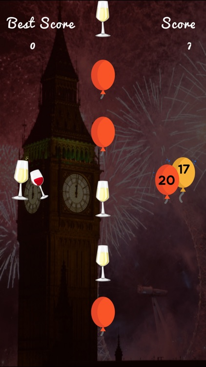 ThumZapp - A game to celebrate New Year 2017