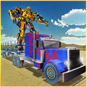 机器人运输 - 大型拖车卡车模拟器3D