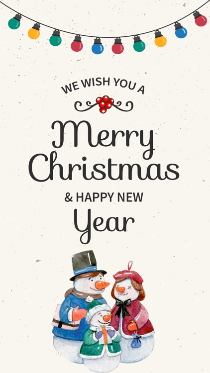 Christmas adorable stickers for iMessage merry