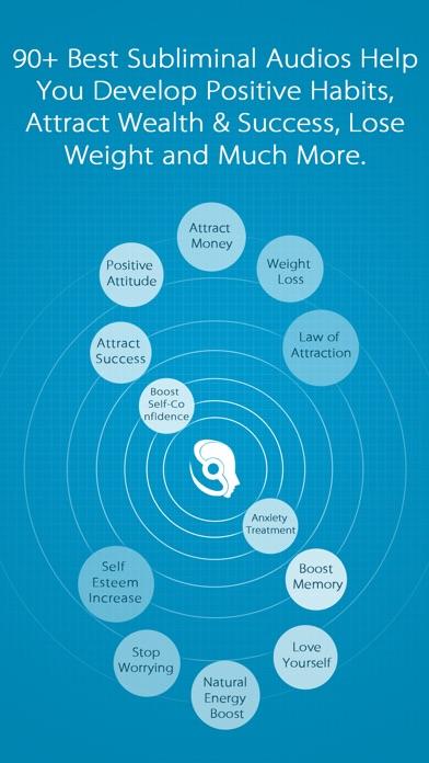 Subliminal Work - Positive Thinking Affirmations app image