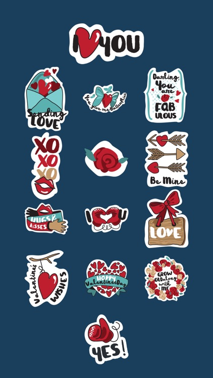 Cute LOVE Stickers screenshot-4