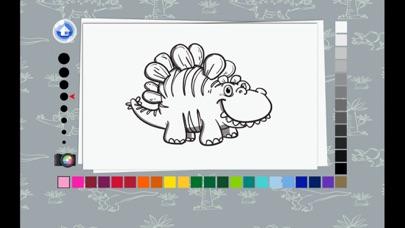 Coloring Book - T rex Dinosaur Kids Learn To Paint screenshot three