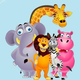 تعليم اسماء الحيوانات واصواتها للاطفال