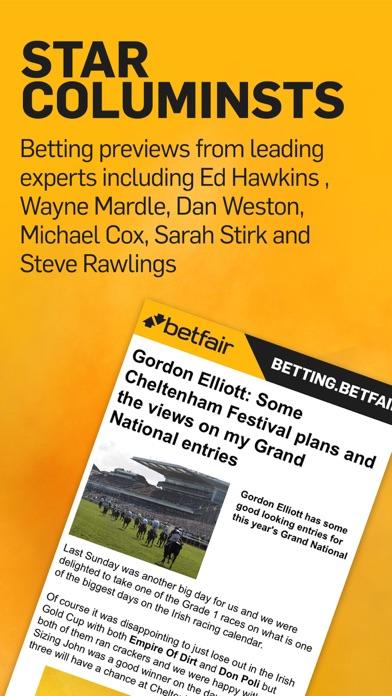 Betting.Betfair - Sports News, Odds & Tips screenshot three