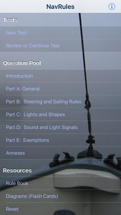 NavRules Screenshot