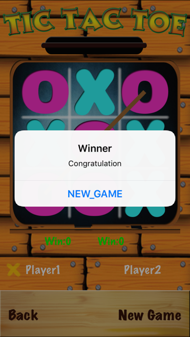 TicTacToe - One & Two Player screenshot 4