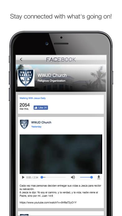 Screenshot #5 for WWJD Church