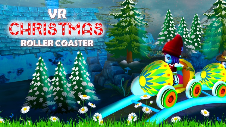 VR Christmas Roller Coaster screenshot-2