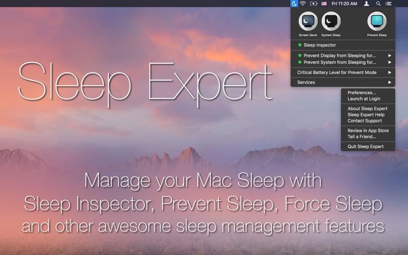 Sleep Expert скриншот программы 1