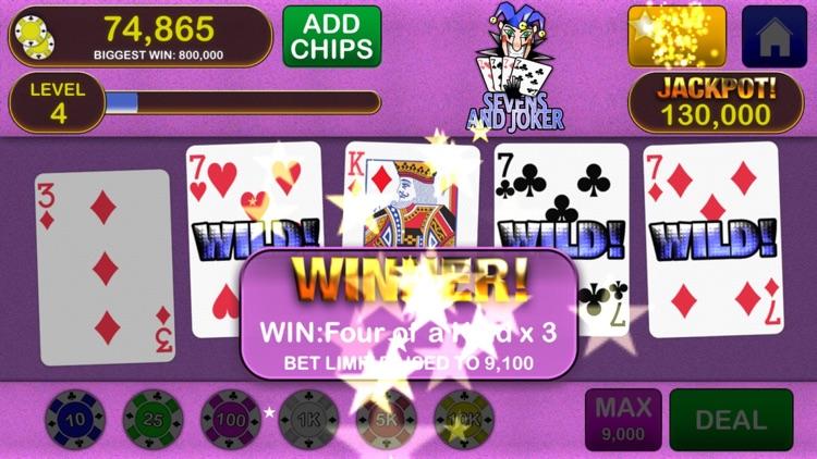 Video Poker Jackpot! - The original and best. screenshot-0