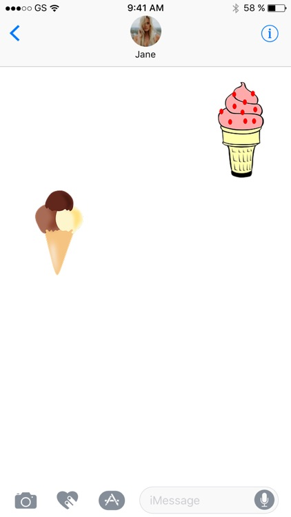 Ice Cream Seven Sticker Pack