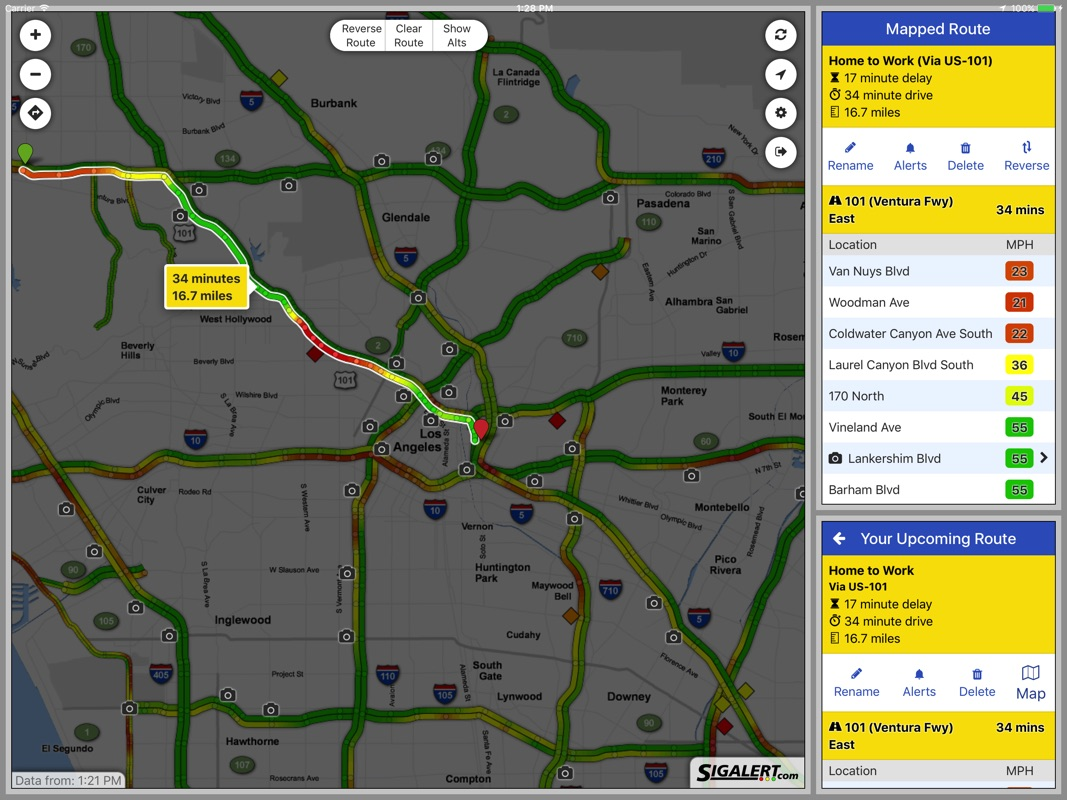 Sigalert.com - Live traffic reports - Online Game and ... on sigalert dallas map, sigalert inland empire map, sigalert portland map,