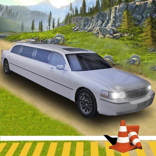 Off-Road Limo Hill Climber : 3D Car Par-king 2016 icon