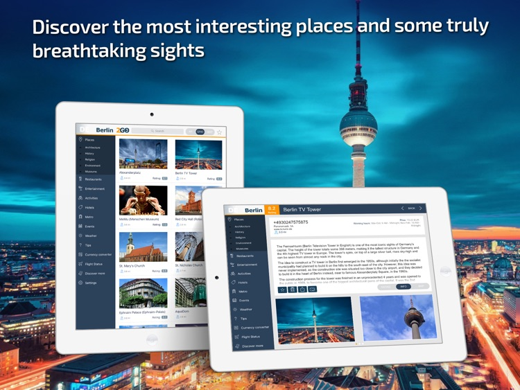 Berlin Travel Guide and offline map
