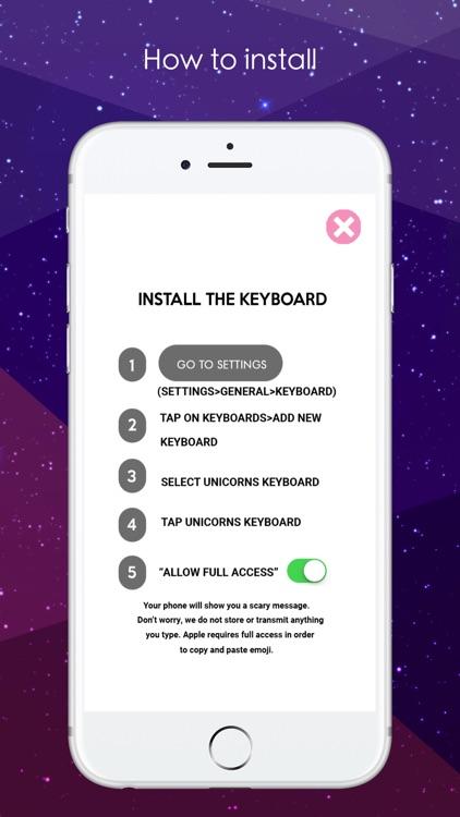 Unicorns Emoji and Stickers screenshot-4