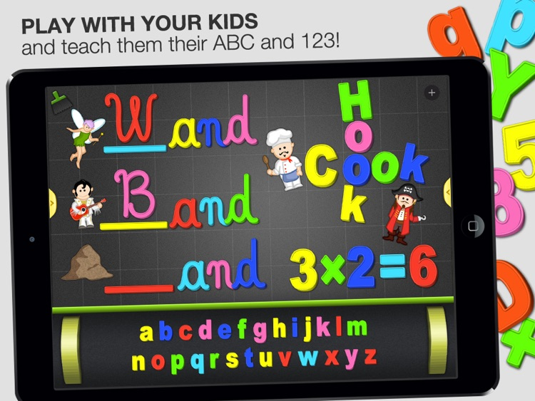 ABC - Magnetic Alphabet Full for Kids screenshot-0