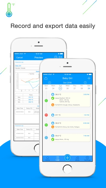 Fever Tracker Pro - Body Temperature Manager & Log