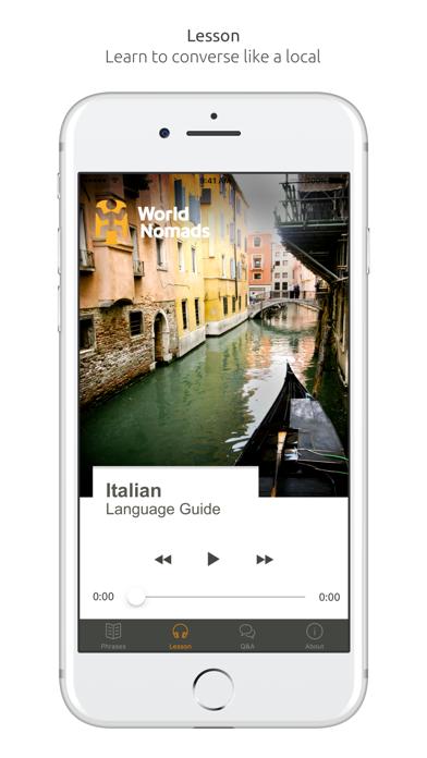 Italian Language Guide & Audio - World Nomads screenshot three