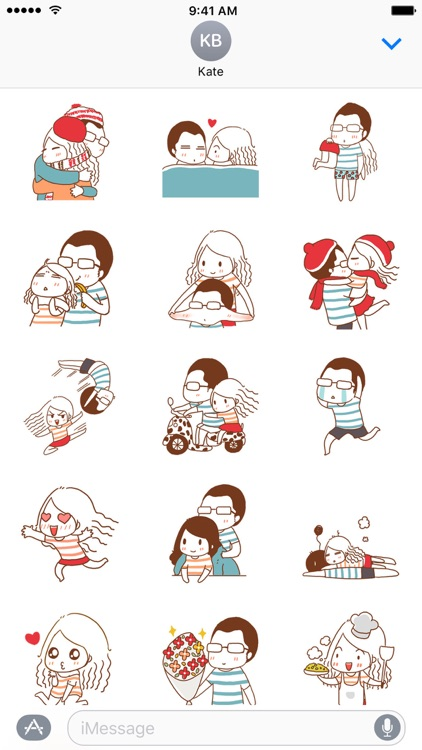 Lovely Couple - NHH Stickers