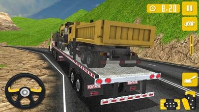 越野山卡车司机起重机模拟器3D游戏 App 截图