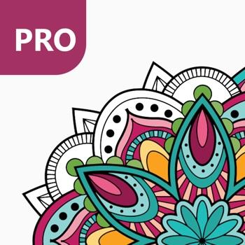 Kleurplaten Uit Kleurboek Voor Volwassenen.Mandala Kleurplaten Voor Volwassenen Pro App Voor Iphone Ipad En