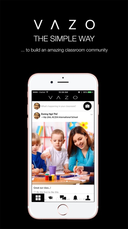 VAZO-The classroom communities