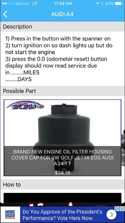VEHIX411   OBD Trouble Codes screenshot-3