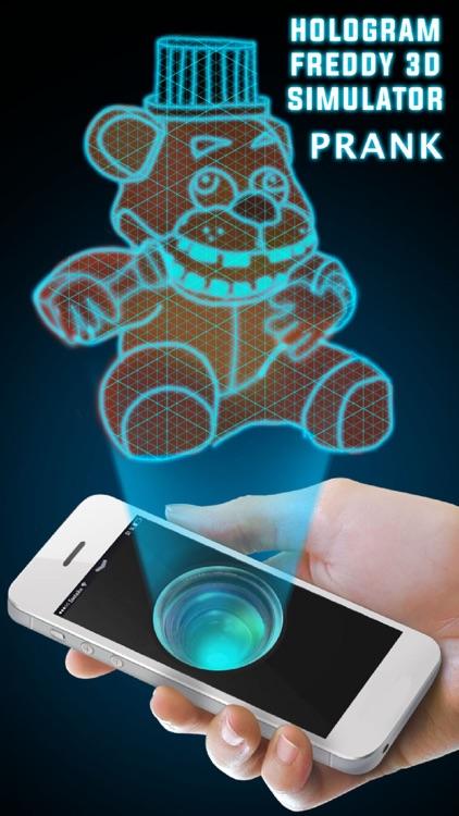 Hologram Freddy 3D Simulator