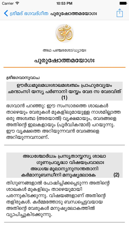 Bhagavad Gita (Malayalam) by Haridas Pachuveetil