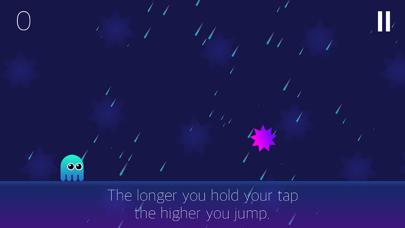 Ghost Jump - Endless Time Killer Game screenshot one