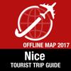 Nizza Reiseführer + Offline-Karte