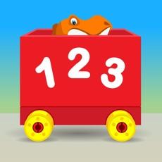 Activities of Number Train Kindergarten Maths