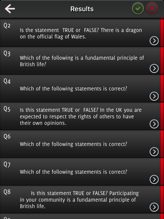 Life in the UK Test Question 2017 screenshot 8