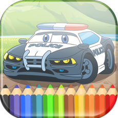 Activities of Cars Coloring Book for Kids & Toddlers