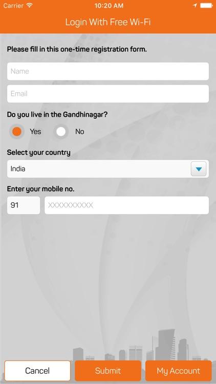 Gandhinagar City Wi-Fi screenshot-3