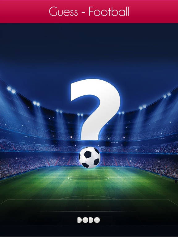 Image of Guess - Football for iPad