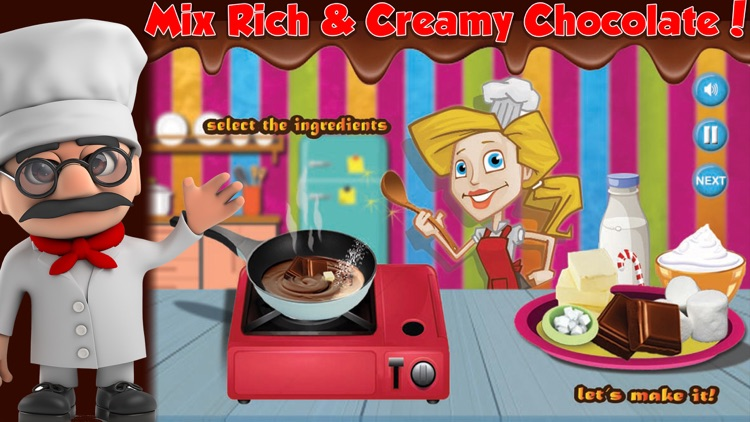 Chocolate Maker Cooking Game