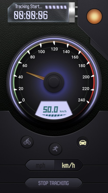 GPS Speedometer Digital and Analog