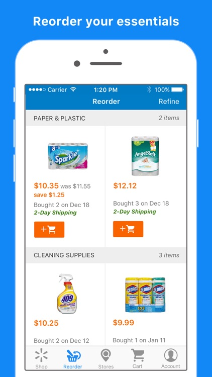 Walmart: Free 2-Day Shipping,* Easy Store Shopping app image