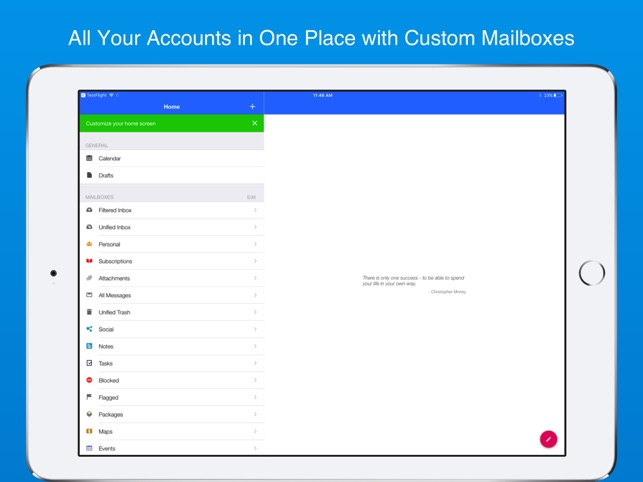 Inky - Secure Email Screenshot