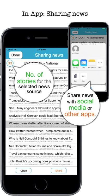 AllNews - Scrolling multiple RSS feeds screenshot-4
