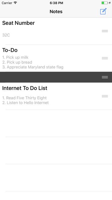 Inscribe - Widget Notes